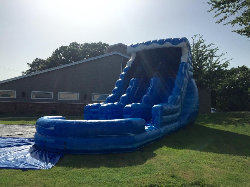 Water Slides 20ft Big Blue Water Slide Inflatable Rentals