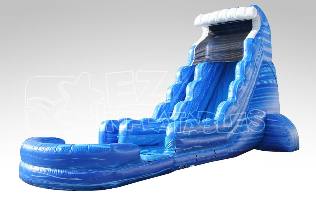 Water Slides 22 Ft Tsunami Water Slide Inflatable Rentals