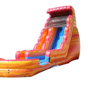 SFire and Ice Inflatable Water Slide