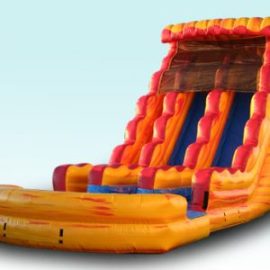 Fire N Ice Wet and Dry Slide