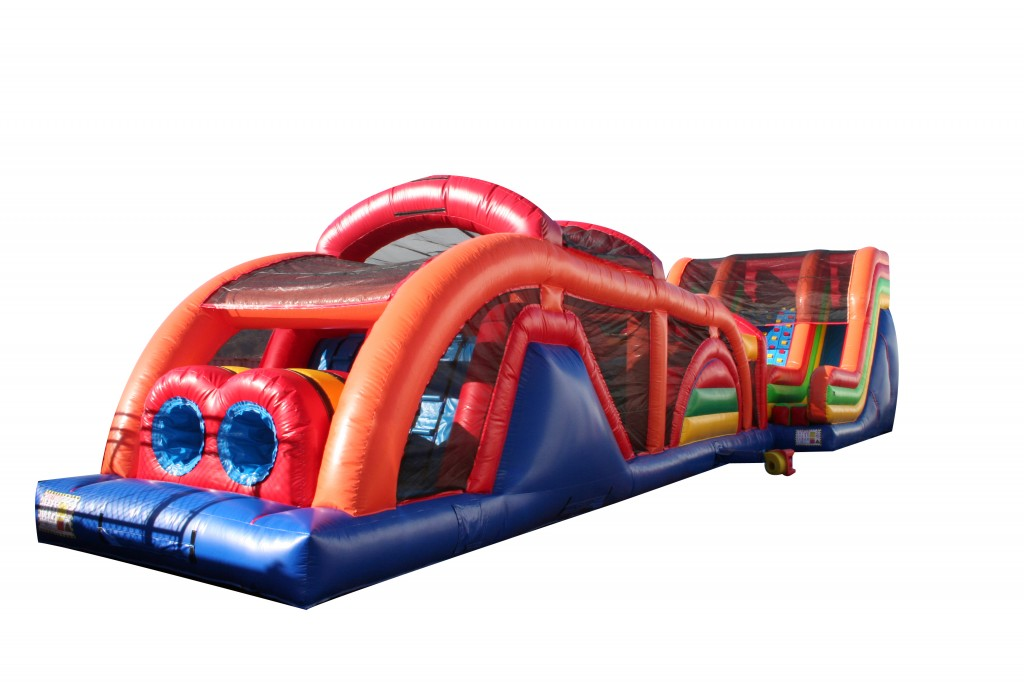 90 Ft Extreme Obstacle Course for Rent