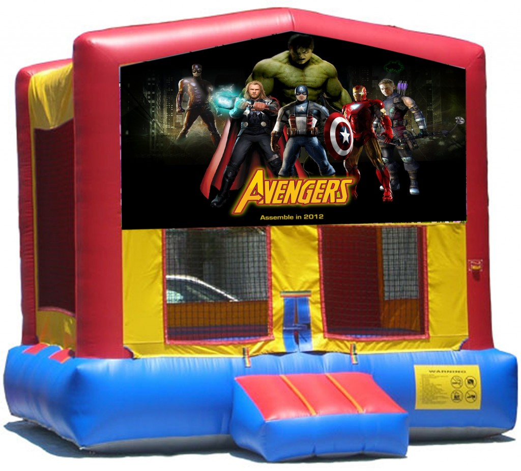 Avengers Inflatable Bounce House Rentals Jumpers