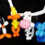 Balloon Artist Making Balloon Animals