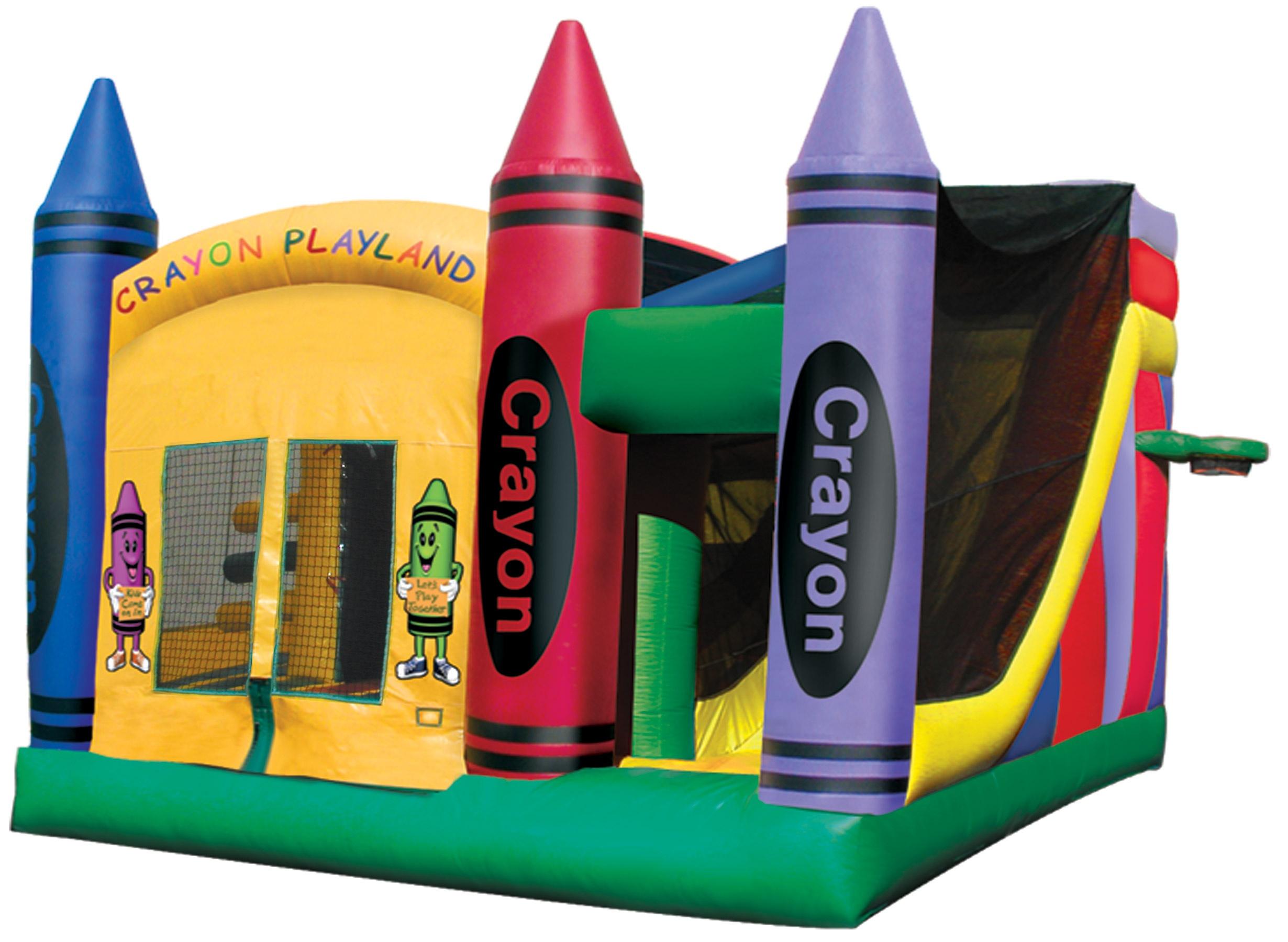 Crayola 5 In 1 Combo Combo Bounce House