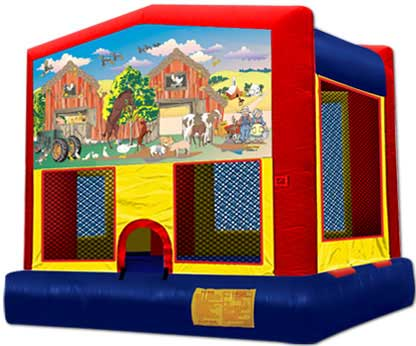 Farm U0026 Tractor Inflatable Bounce House Rentals | Jumpers