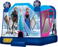 Frozen 4 in 1 Combo Bounce House