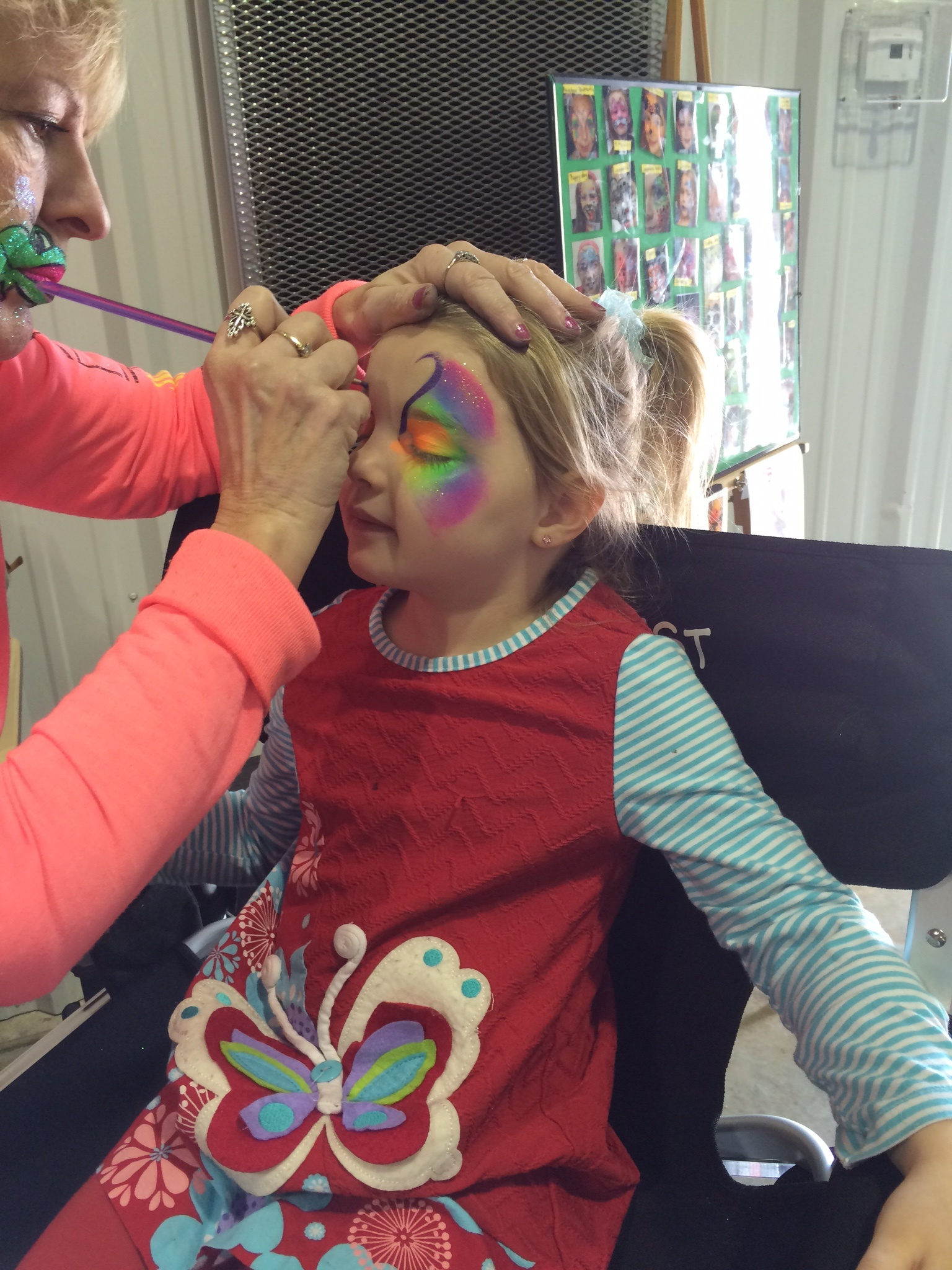 Face Painters Entertainers Clown Around Party Rentals