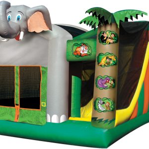 Jungle 5 in 1 Combo Bounce House
