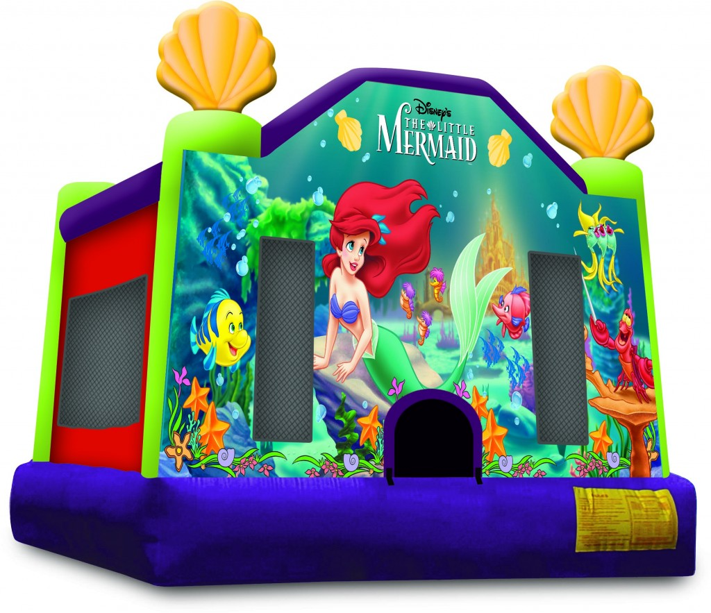 Little Mermaid Bounce House Jumpers