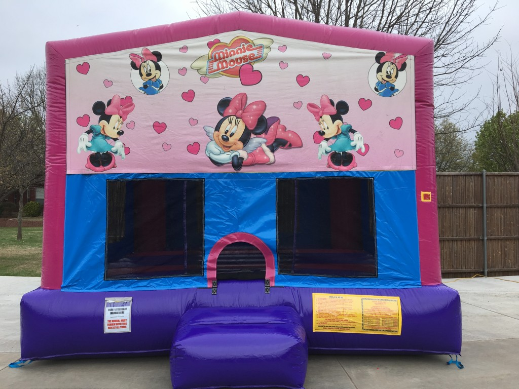Minnie Mouse Inflatable Bounce House Rentals Jumpers