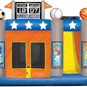 Sports 5 in 1 Combo Bounce House