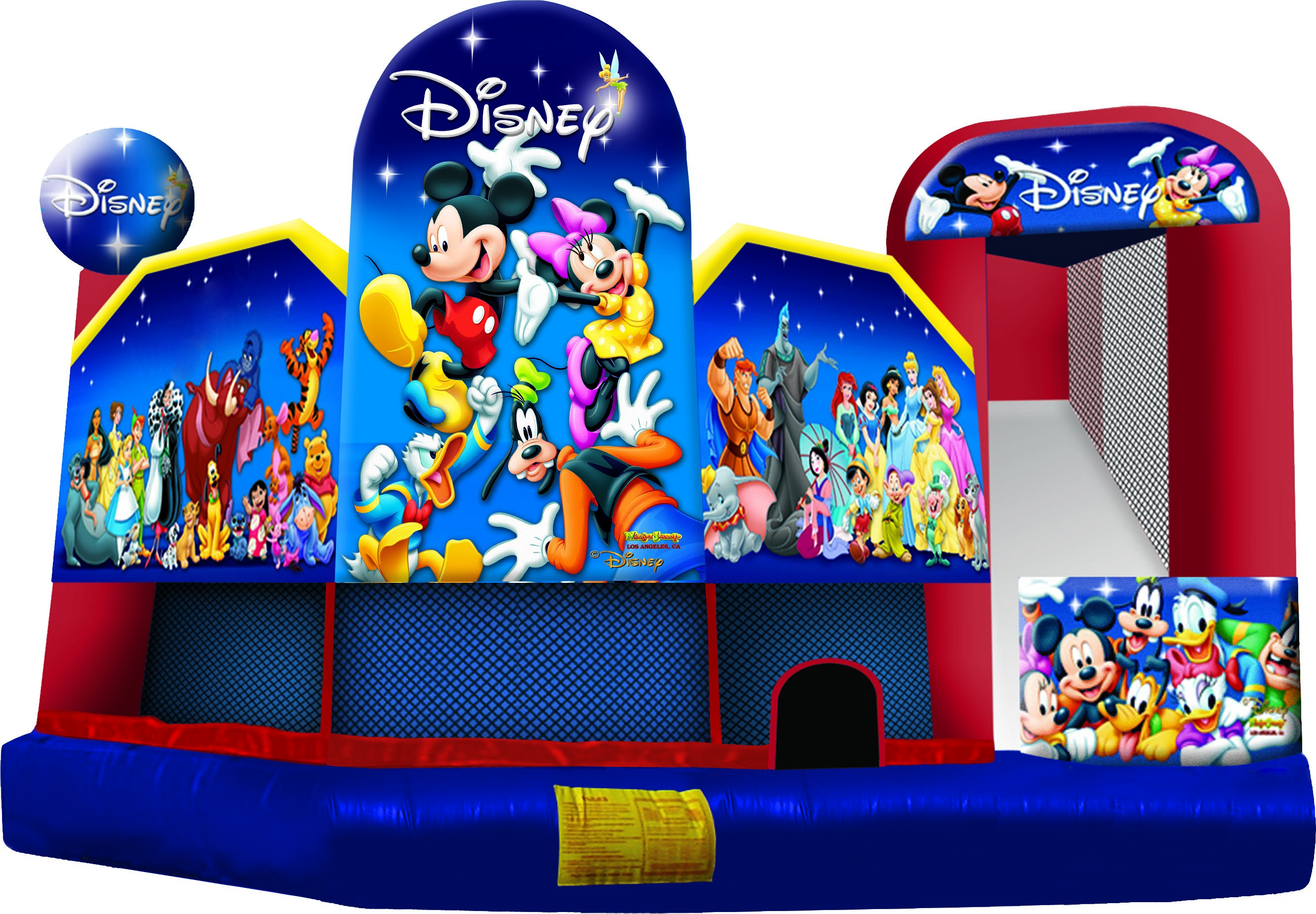 Disney 5 In 1 Combo Combo Bounce House