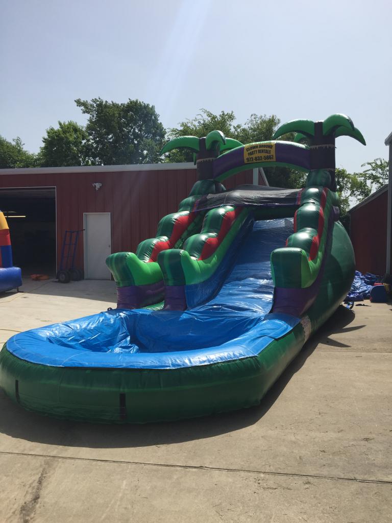 15ft Tropical Water Slide Inflatable Water Slide Rental