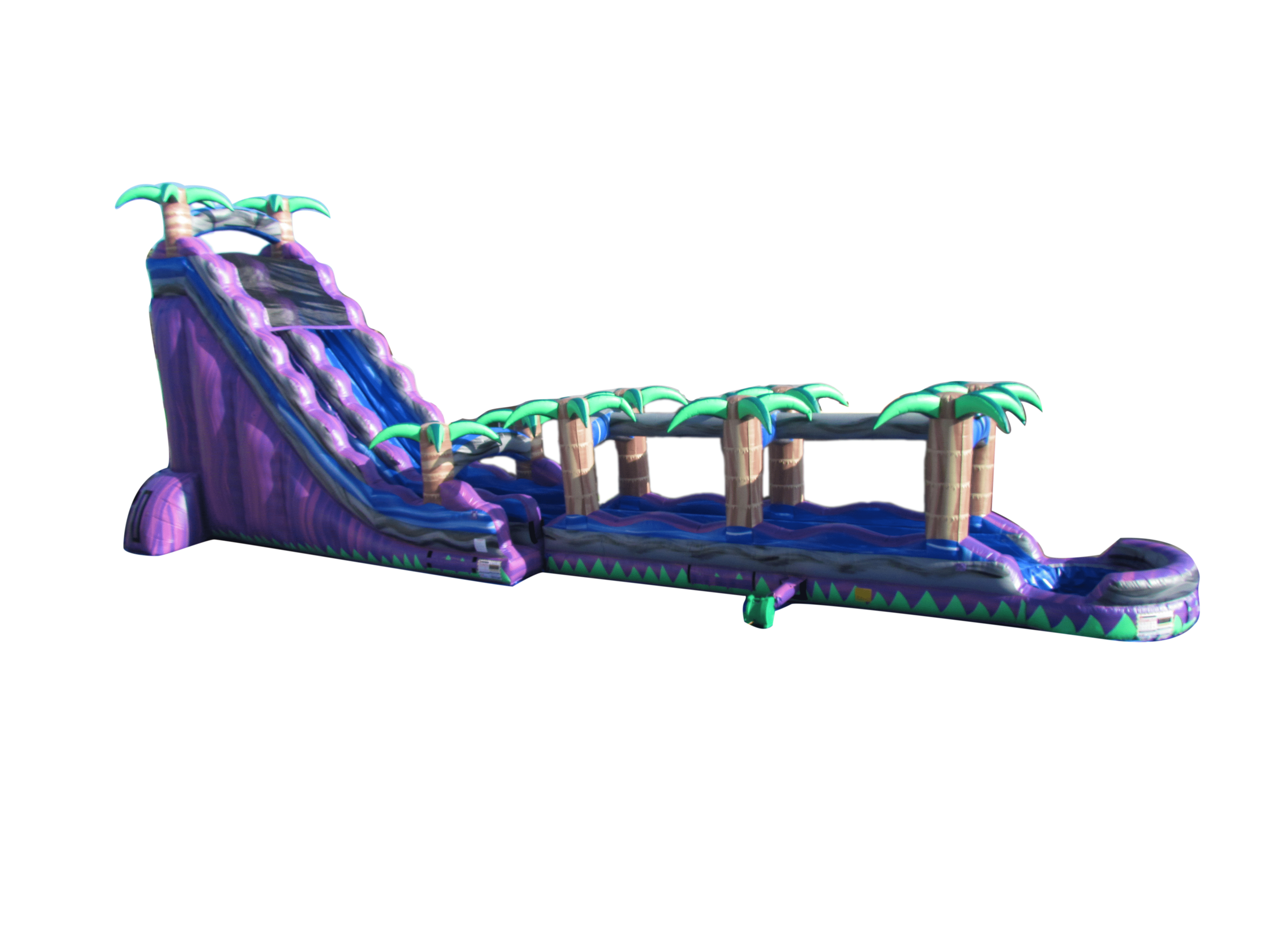 Purple Crush Water Slide For Rent Inflatable Water Slides