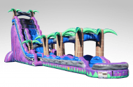 Purple Crush Inflatable Water Slides For Rent