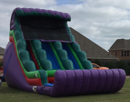 18ft Dual Lane Slide