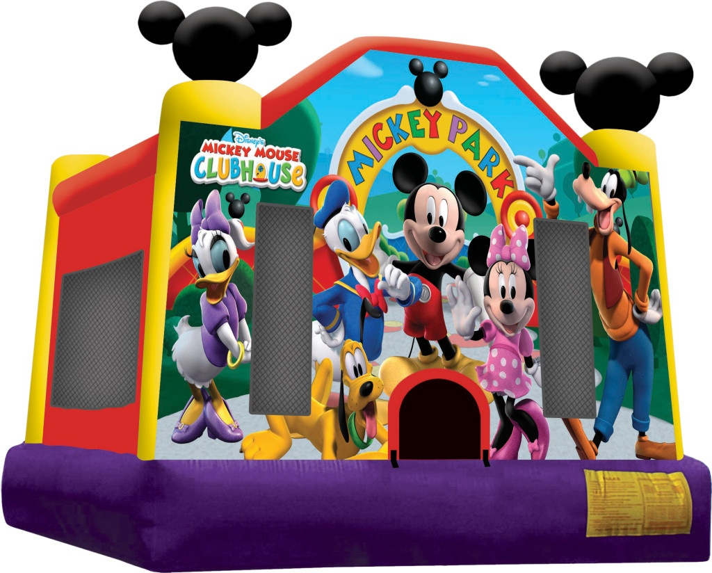 Mickey Mouse Bounce House Rentals Jumpers