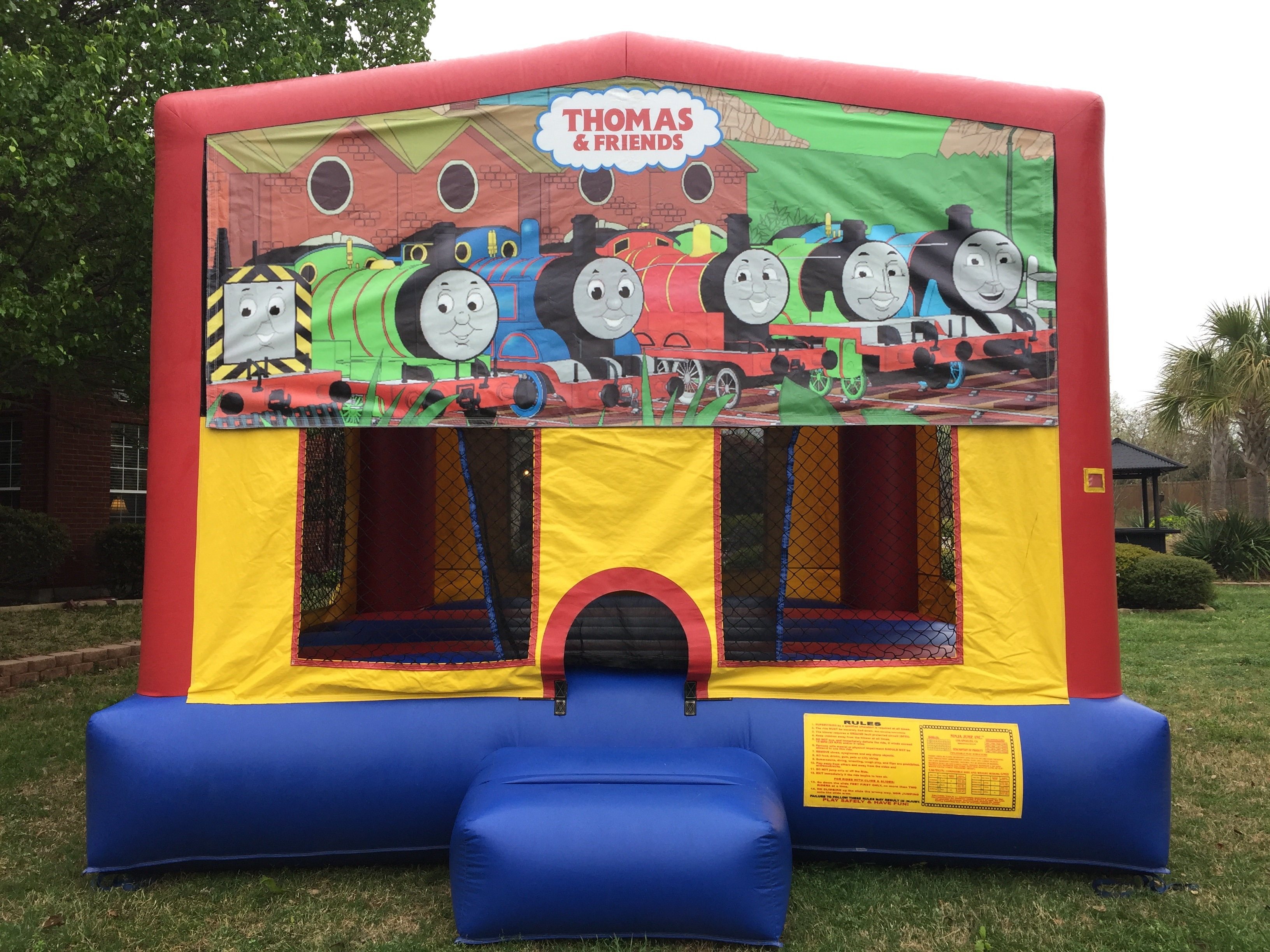 Thomas The Train Bounce House Rental Jumpers