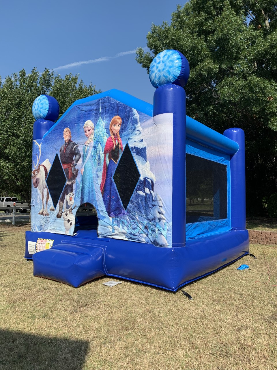 Frozen Bounce House Rental | Frozen Party Jumpers