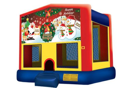 Happy Holidays Bounce House